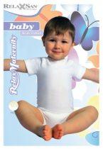 Rövid ujjú body-Milk (tejszálat tartalmaz)
